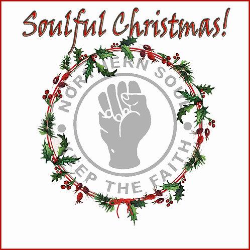 Soulful Wreath Christmas Card. CL514