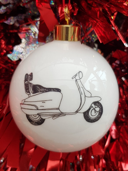 China Christmas Bauble Scooter