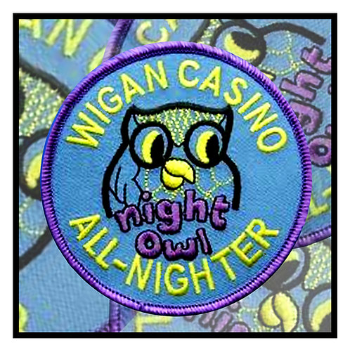 Blue Night Owl Greeting Card. CL205.