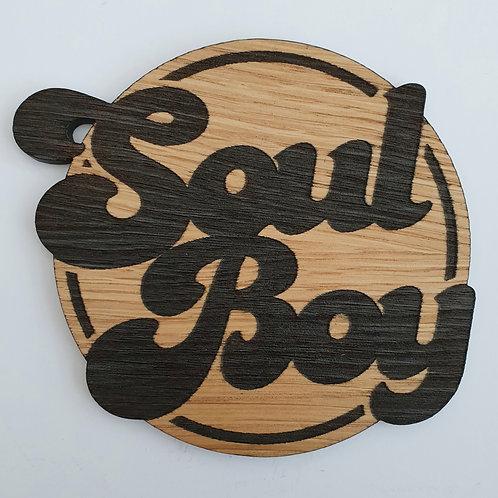Soul Boy Wooden Coaster