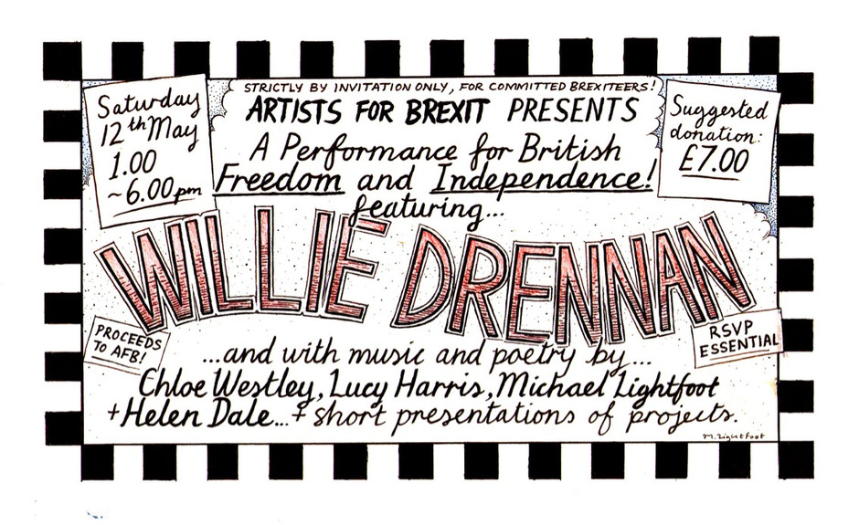 The Artists for Brexit Inaugural Gig!