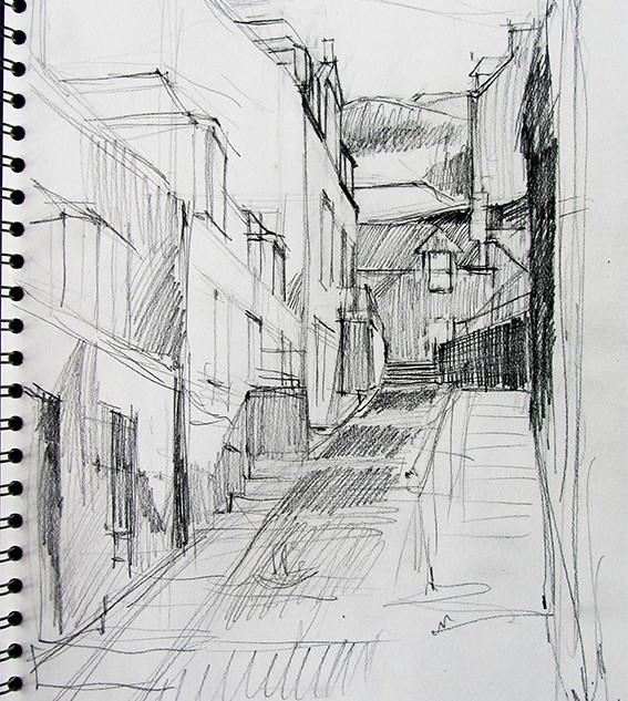 Strait Path sketch