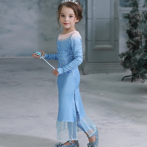 Платье Эльзы (Модель 5) Холодное сердце 2