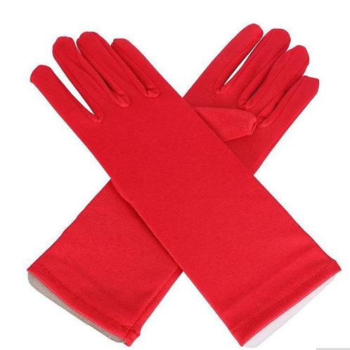 Перчатки красные (3-5 лет)