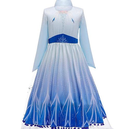 Платье Эльзы  (Модель 6) Холодное сердце - 2