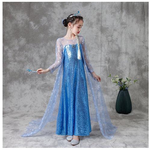 Платье Эльзы  (Модель 3)