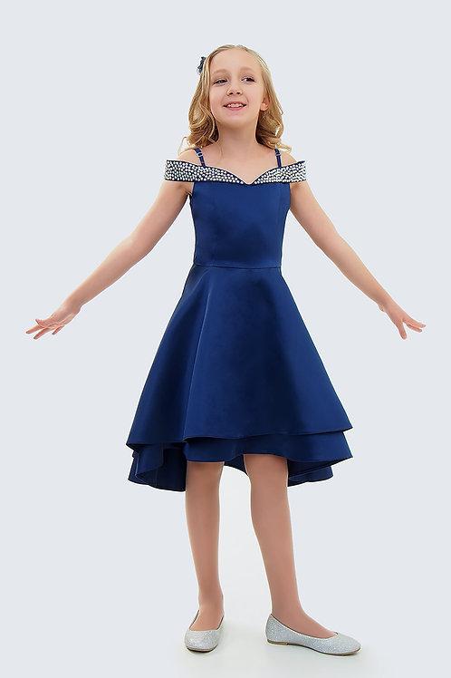 """Платье """"Сияние"""" (синее)"""