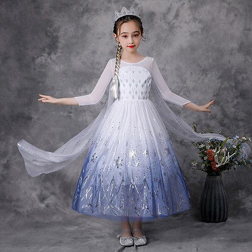 Платье Эльзы  (Модель 6)