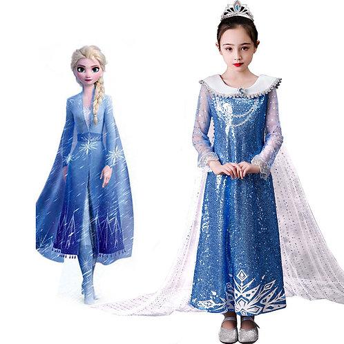 Платье Эльзы  (Модель 9)