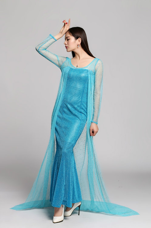 Платье Эльзы (взрослое)