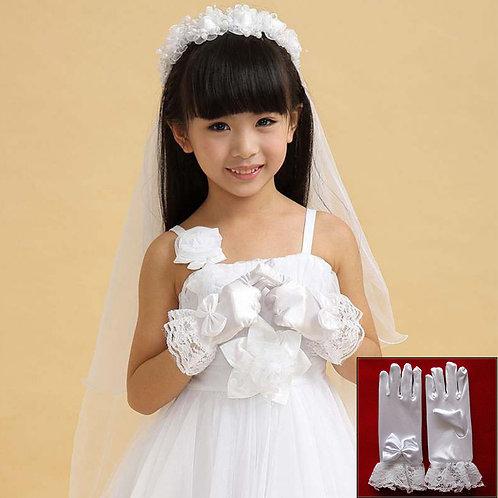 Перчатки детские (белые)