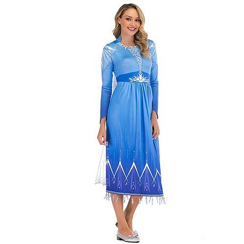 Платье Эльзы взрослое