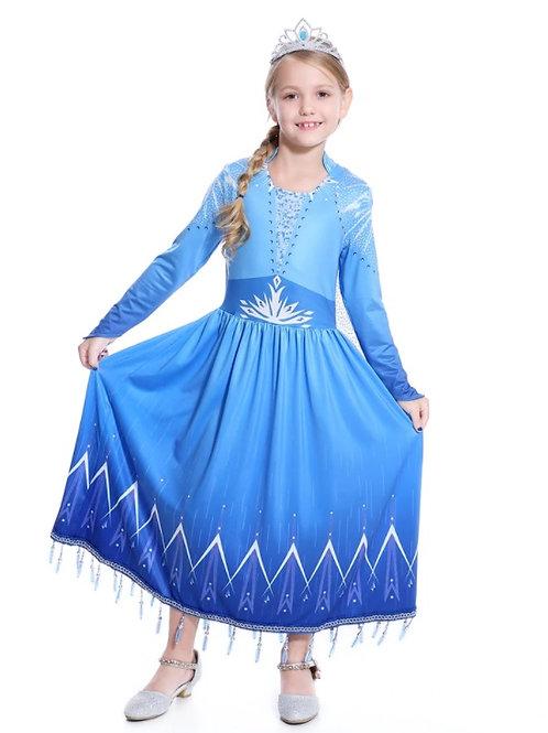 Платье Эльзы  (Модель 4) Холодное сердце - 2