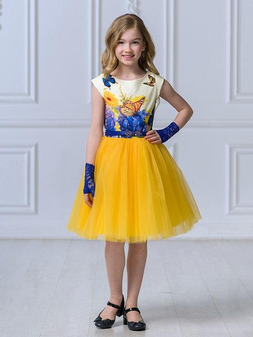 """Платье """"Принцесса бабочек"""""""