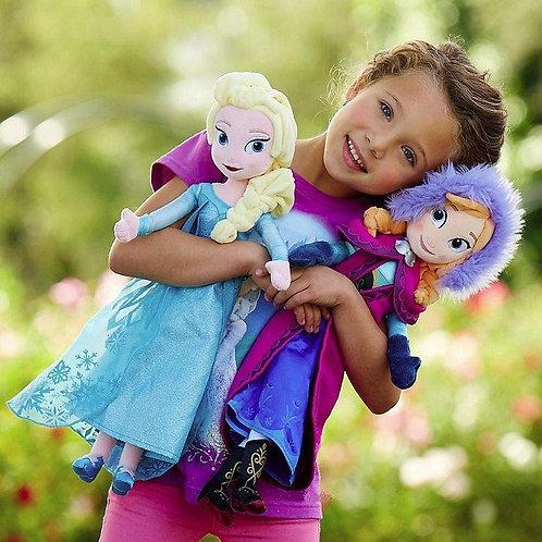 Куклы Эльза и Анна, 50 см