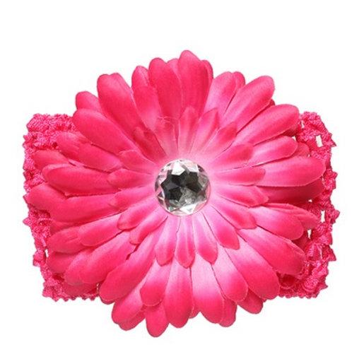 Повязка с цветком (на голову)