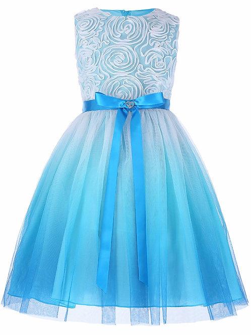 Платье Амелия (голубое)