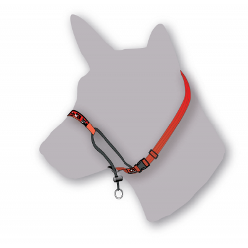 Black Dog Wear Training Halter - Medium