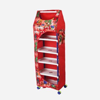 Ebee Polyester Collapsible Wardrobe