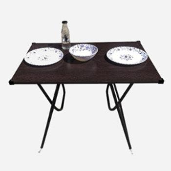 limraz furniture Engineered Wood 2 Seater Dining Table