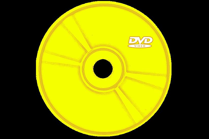 DVD avec Coloration couleur OR