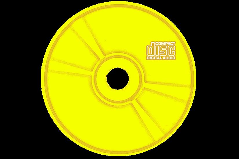 CD avec Coloration couleur OR