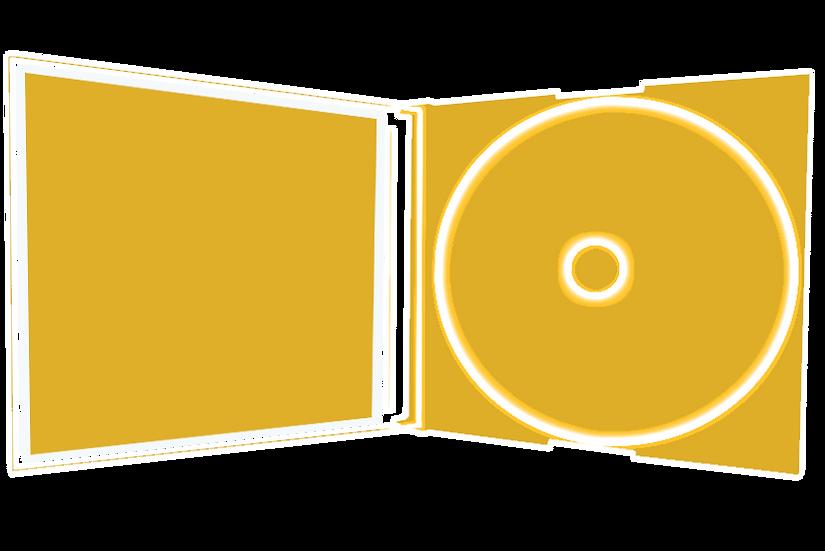 Boîtier Slim (format cd) + 1 CD + Encart r/v + Cello