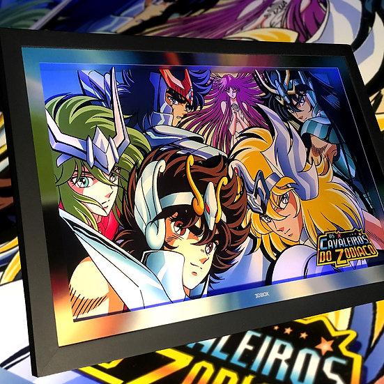 3DBox C. Zodíaco 45x33 c/LED
