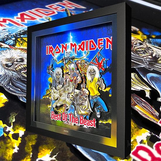 3DBox Iron Maiden 33x33 c/LED