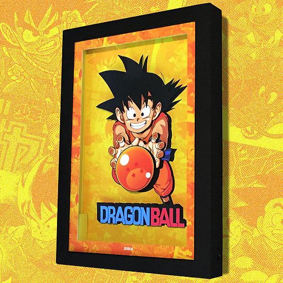 3DBox Dragon Ball 33x23 c/LED
