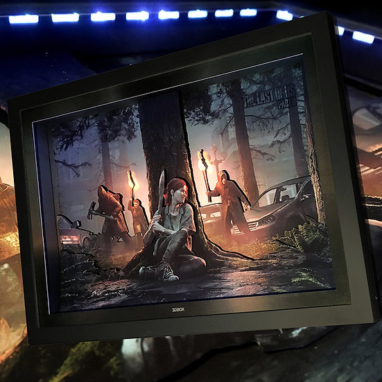 3DBox TLOU 2 45x33 c/LED