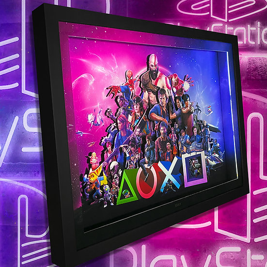 3DBox Exclusivos Play 45x33 c/LED