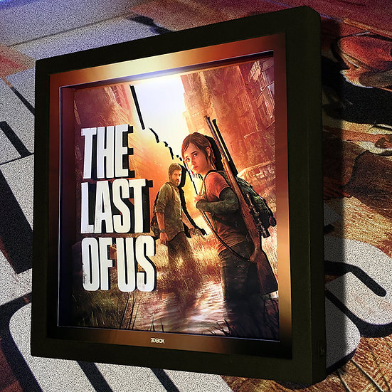 3DBox The Last Of Us 33x33 c/LED