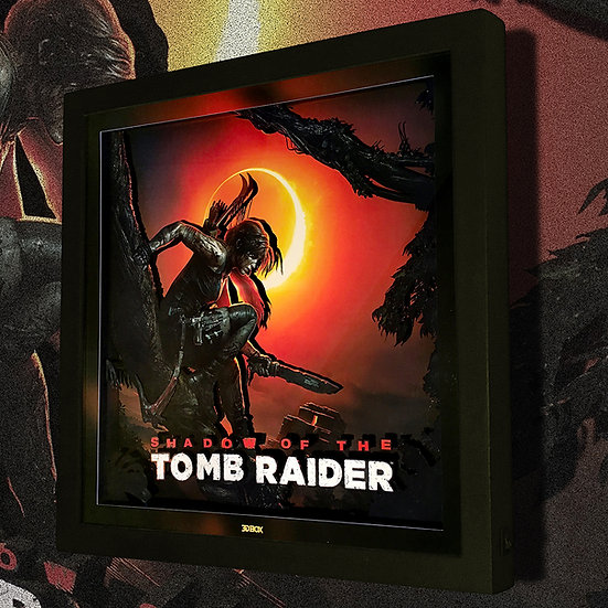 3DBox Tomb Raider 33x33 c/LED