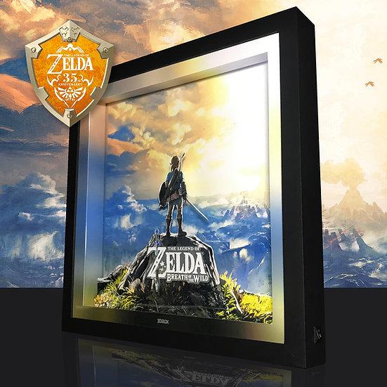 3DBox Zelda 35Yeas 33x33 c/LED