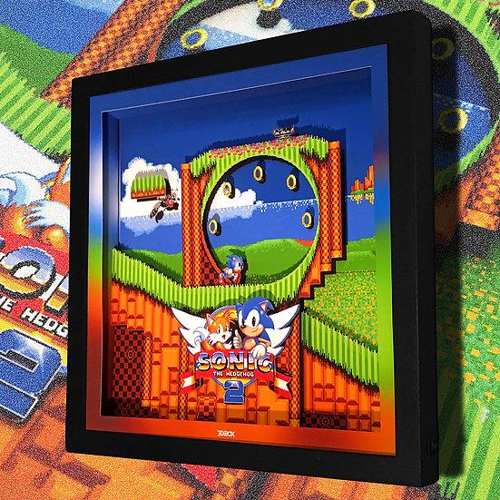 3DBox Sonic 33x33 c/LED