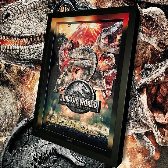 3DBox Jurassic W 45x33 c/LED