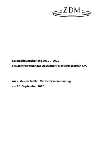 ZDM Berufsbildungsbericht 2019-2020_Seit