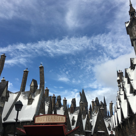 Harry Potter World- Hogsmeade and Hogwarts
