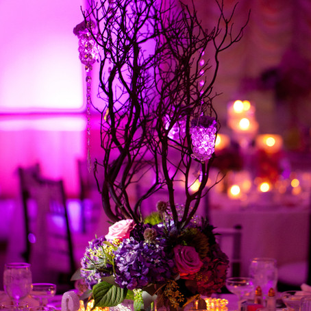 Wedding Centerpieces: Round Tables