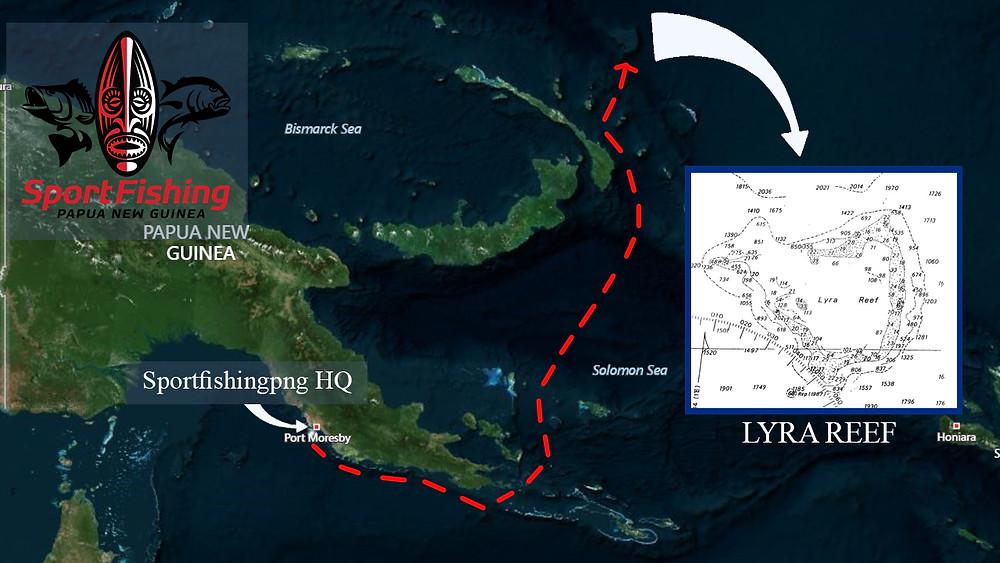 Lyra Reef Map