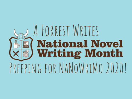 Prepping for NaNoWriMo 2020!