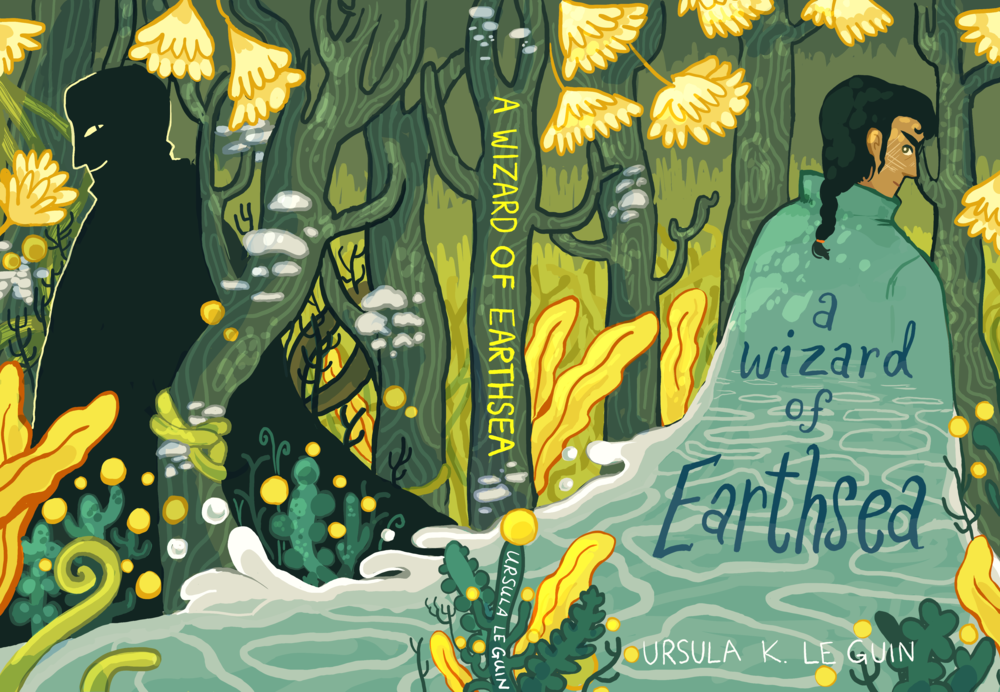 A Wizard of Earthsea alternate cover, fan cover?