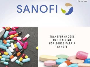 Transformações radicais no horizonte para a Sanofi