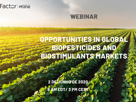 Webinar Opportunities in Global Biopesticides and Biostimulants Markets