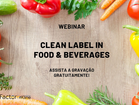 Webinar: Clean Label in Food & Beverages