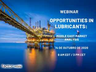 "Webinar ""Opportunities in Lubricants: Middle East Market Analysis"""