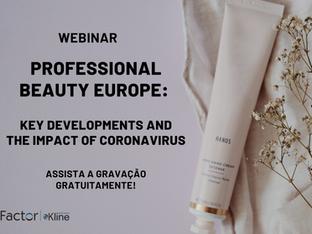 Webinar Professional Beauty Europe- Key Developments and the Impact of Coronavirus