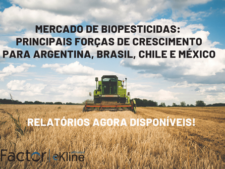 Principais Forças de Crescimento do Mercado de Biopesticidas da América Latina