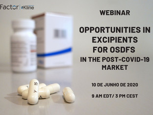 Webinar Opportunities in Excipients for OSDFs in the Post-COVID-19 Market